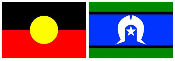 Image result for aboriginal and torres strait islander flags